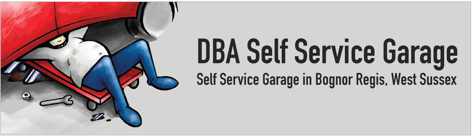 dba self service garage bognor regis do it yourself garage. Black Bedroom Furniture Sets. Home Design Ideas